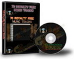 70 Royalty Free Music Tracks Package (PLR)