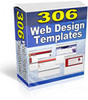 Thumbnail 306 Web Design Templates PLR