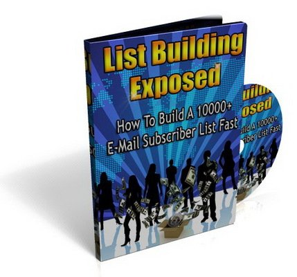 Product picture List Building Exposed Videos & eBook (PLR)