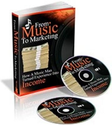 Product picture From Music To Marketing eBook & Audio (PLR)