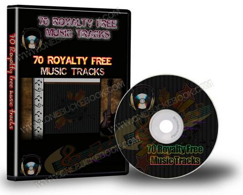 Product picture 70 Royalty Free Music Tracks Package (PLR)