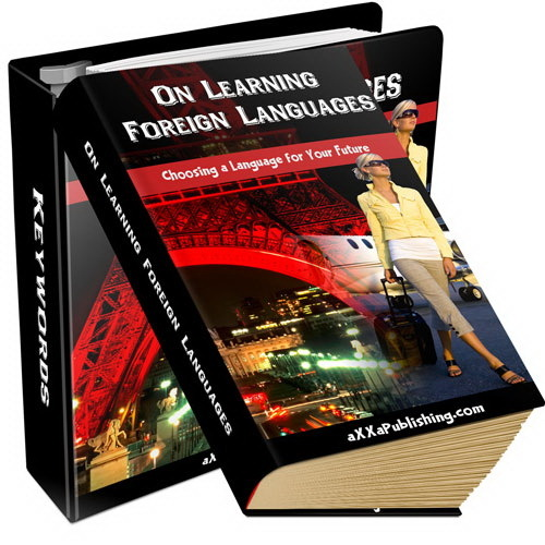 Product picture On Learning Foreign Languages (PLR)