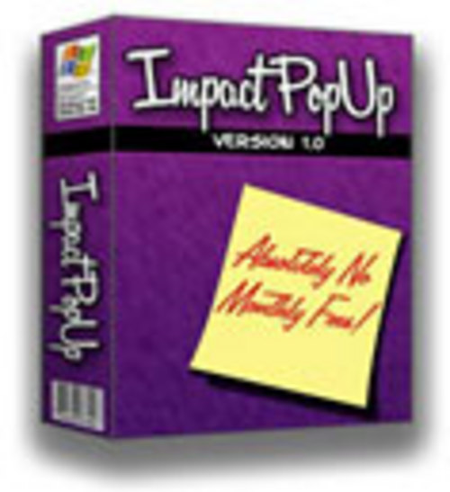 Product picture Impact Popup