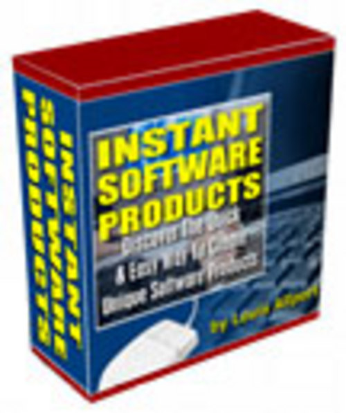 Product picture Instant Software Products